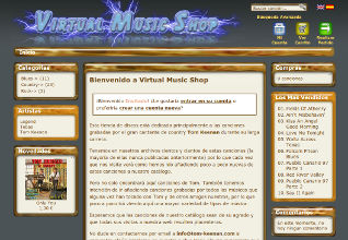 Virtual Music Shop